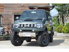 ジムニーランドベンチャー 4WD リフトアップ 新品サスペンション キーレス CDオーディオ シートヒーター