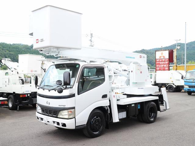 日野 アイチ高所作業車SS12A