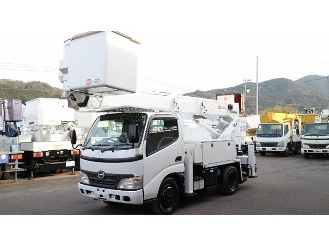 日野 デュトロ アイチ高所作業車Sh15B (なし)