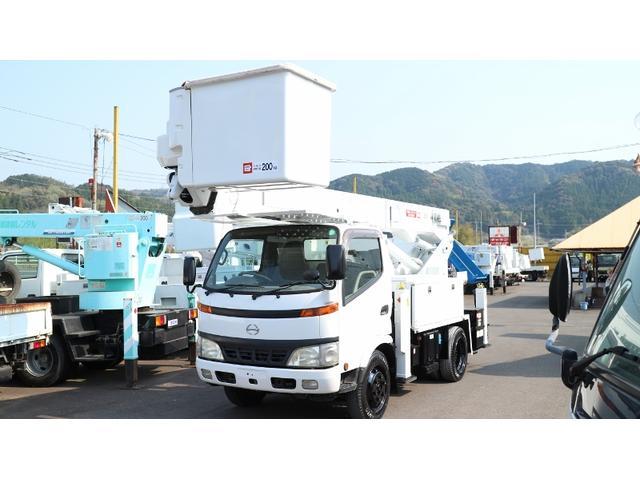 日野 アイチ高所作業車Sh15A