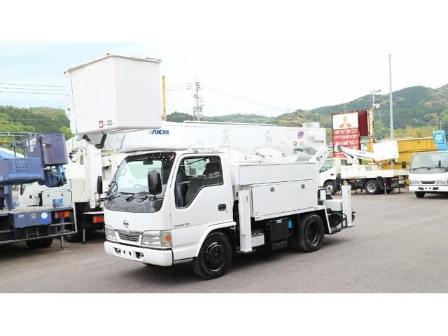 日産 アイチ高所作業車Sh15A