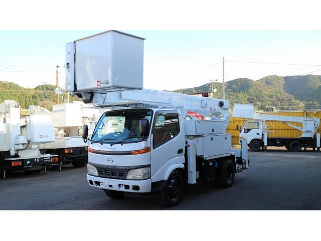 日野 アイチ高所作業車SH15B