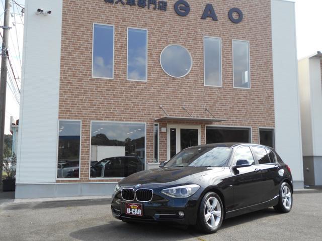 BMW 116i スポーツ ポータブルナビ