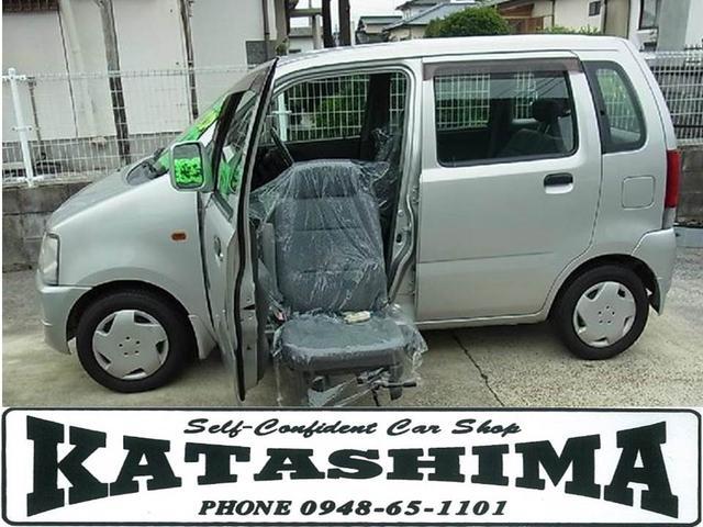 スズキ 福祉車両 助手席回転リフトアップシート
