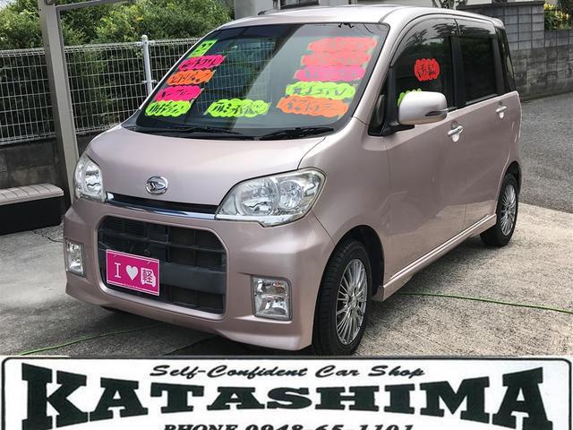 ダイハツ カスタムG 社外アルミ&タイヤ新品 新品バッテリー 社外CD