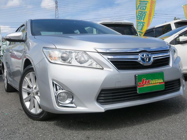 トヨタ 2年保証付HVGパッケージMOP地デジナビ革巻ステアクルコン