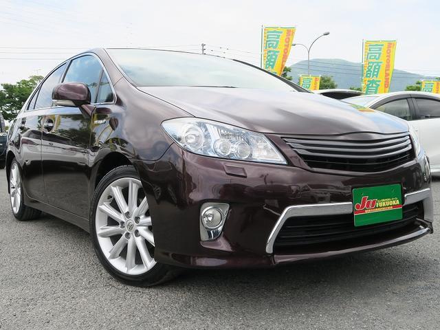 トヨタ 2年保証GHDDナビスマートキー黒革シ-トクルコン