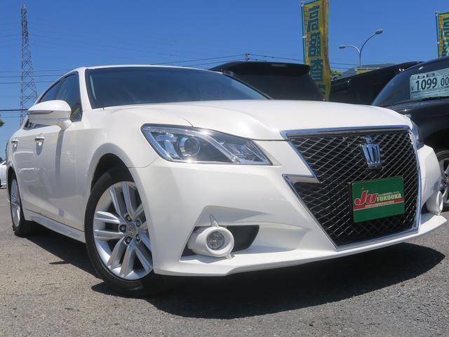 トヨタ 2年保証アスリートS1オーナーHDD地デナビ黒革シートアルミ