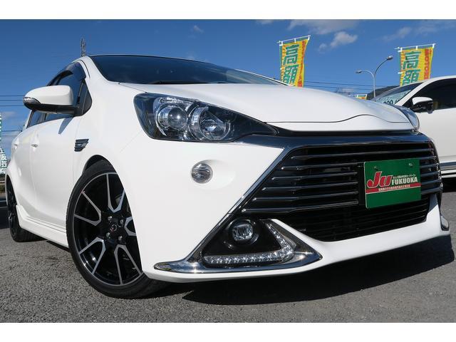 トヨタ 2年保証GーG's1オーナー地デジ車高調セーフティセンス