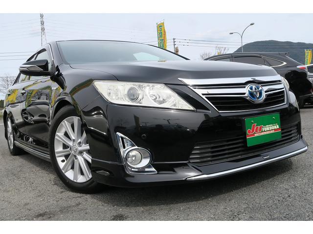 トヨタ 2年保証HVレザーパッケージ地デナビクリソナ黒革ヒーター