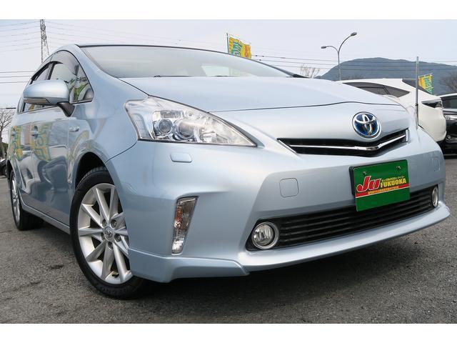 トヨタ Sツーリング純正エアロ地デジナビムーンルーフ革巻ステア保証渡