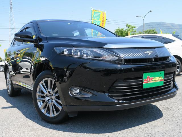 トヨタ HVプレミアムアドバンスドPKGセーフティS黒革地デジ保証渡