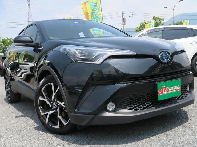 トヨタ HV-G1オーナー黒革LED地デジナビレーダークリソナ禁煙車