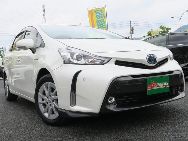 トヨタ GセーフティセンスHレザー地デジCセンサー禁煙車