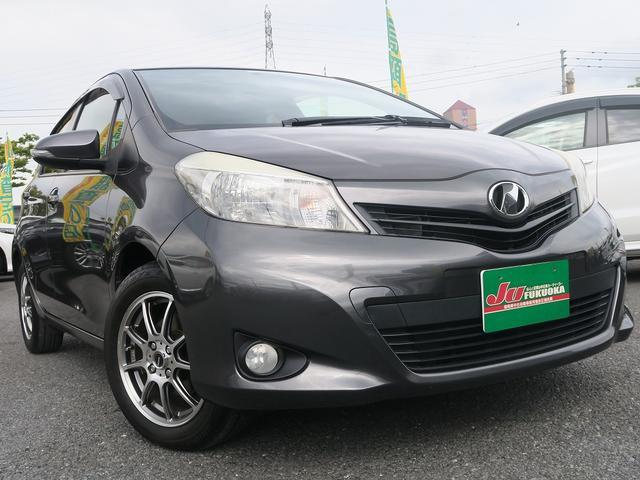 トヨタ 1年保証Fスマートストップパッケージ地デジ15アルミ禁煙車