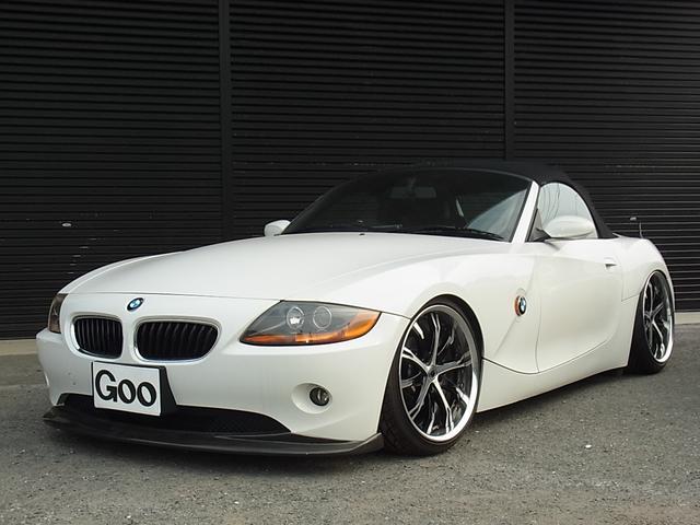 BMW 2.2i WORK19アルミ 車高調 社外エアロ