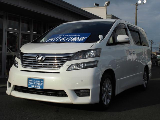 トヨタ 2.4Zプラチナムセレクション ワンオーナー 純正17AW