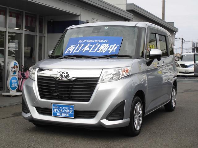 トヨタ ルーミー X S 純正SDナビ アイドリングストップ スマートアシスト