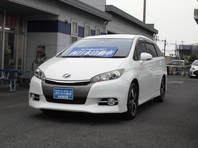トヨタ 1.8S イクリプスSDナビ フルセグ バックモニター Bluetooth パドルシフト プッシュスタート HID フォグ 後期モデル