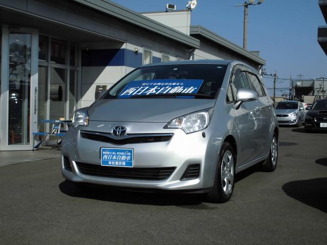 トヨタ ラクティス G カロッツェリアSDナビ フルセグ Bluetooth 革巻きハンドル クルーズコントロール プッシュスタート HID ETC