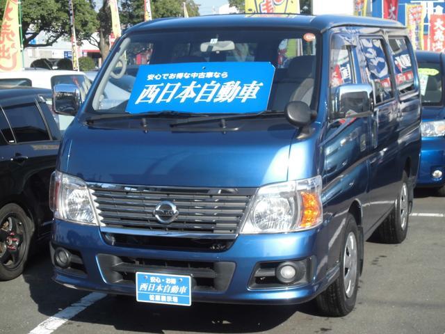 日産 シルクロードGX 社外SDナビ