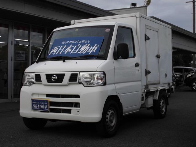 日産 NT100クリッパートラック  純正ラジオ 冷凍マイナス5度設定 サイドドア付き ヘッドライトレベライザー パワステ エアコン