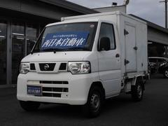 NT100クリッパートラック 純正ラジオ 冷凍マイナス5度設定 サイドドア付き ヘッドライトレベライザー パワステ エアコン