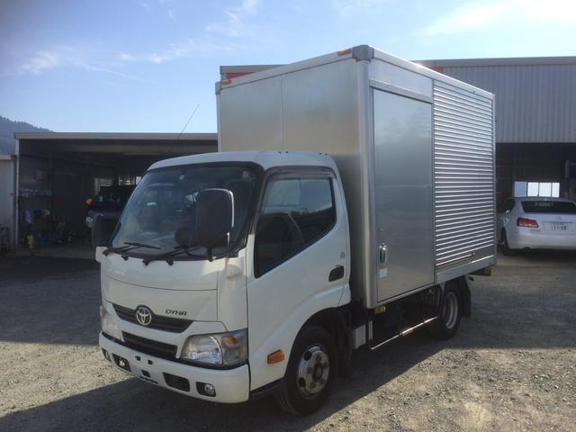 トヨタ  アルミバン 1ナンバー ディーゼルターボ 最大積載量2000kg 社外SDナビ バックカメラ キーレス ETC
