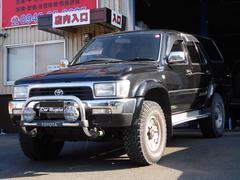 ハイラックスサーフSSR−X ワイド 4WD ディーゼルターボ 社外レンズ