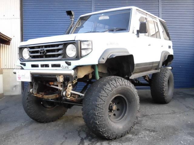トヨタ ZX 1ナンバー リフトUP 全塗装 ロング HZJ77HV