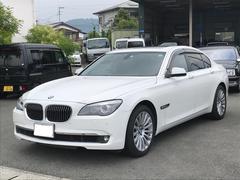 BMW740i 革シート ナビ AW サンルーフ バックカメラ