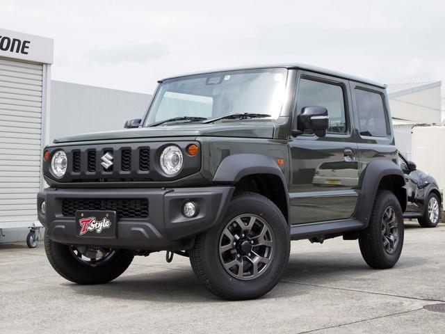 スズキ ジムニーシエラ JC 登録済未使用車 セーフティサポート クルコン・シートヒーター LEDヘッドライト