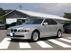BMW525i 左ハンドル ディーラー車 黒本革