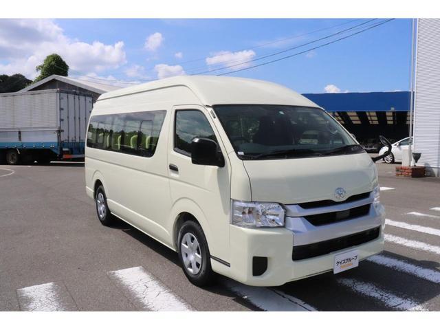 トヨタ ハイエースコミューター DX ロイヤルシャイニングG 幼児バス 幼児23名 大人3名