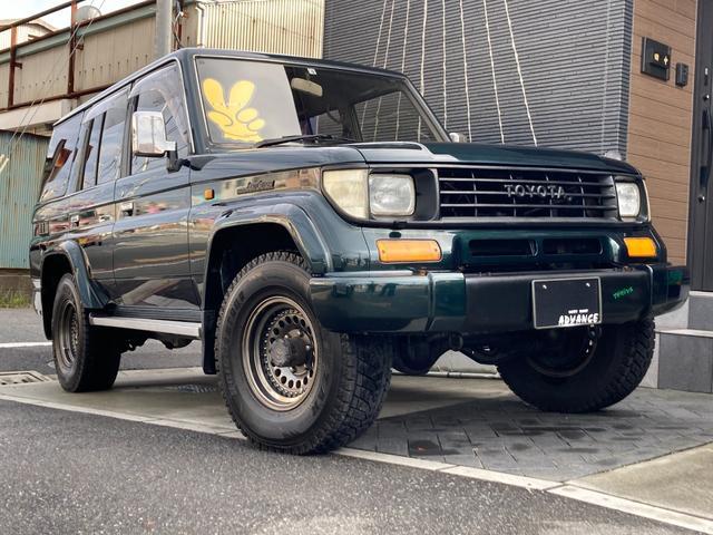 トヨタ SXワイド ディーゼルターボ 社外ナビ ETC 4WD