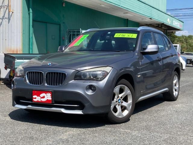 BMW X1 sDrive 18i カロッツェリア7型HDDサイバーナビ DVD再生 HIDヘッドライト 純正17インチAW ルーフレール プッシュスタート