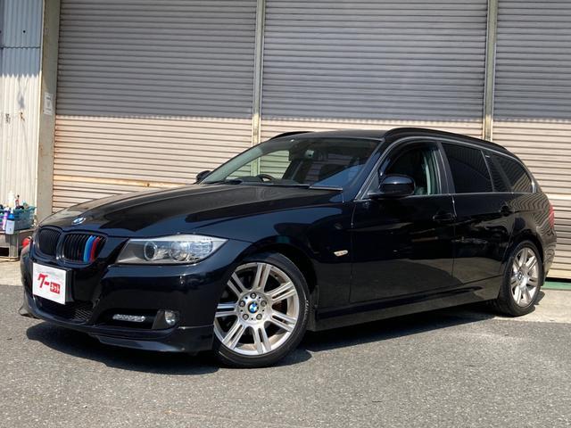 BMW 320iツーリング エクセレンスエディション 純正ナビ バックカメラ 革シート 純正アルミ マフラー