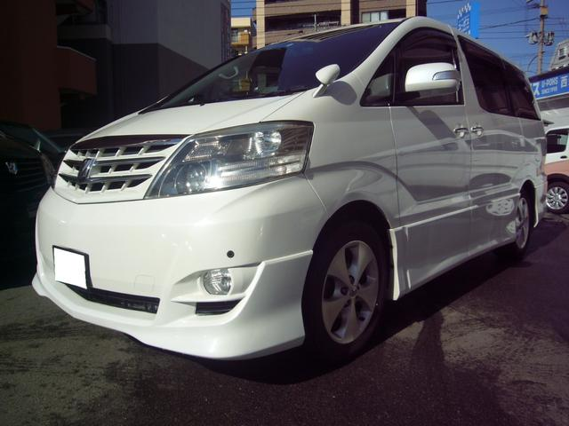 トヨタ AS プラチナセレクションII 両側パワスラ ナビ フリップ