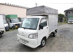 ハイゼットトラック軽運送 幌車 24年式 エアコン パワステ