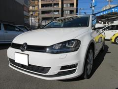 VW ゴルフTSIコンフォートライン コネクト ワンオーナー 禁煙車