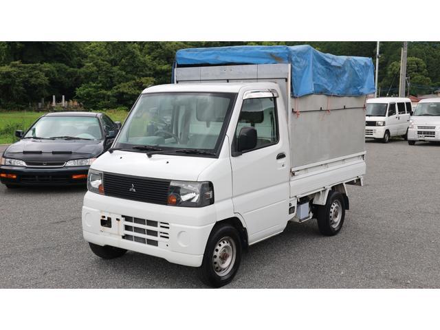 三菱 パネルバン リアカーテン仕様 幌車 特装車