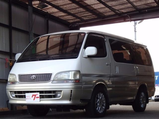 トヨタ リビングサルーンEX トリプルムーンルーフ 社外アルミ