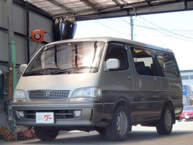 トヨタ スーパーカスタムリミテッド 自動スライドドア サンルーフ