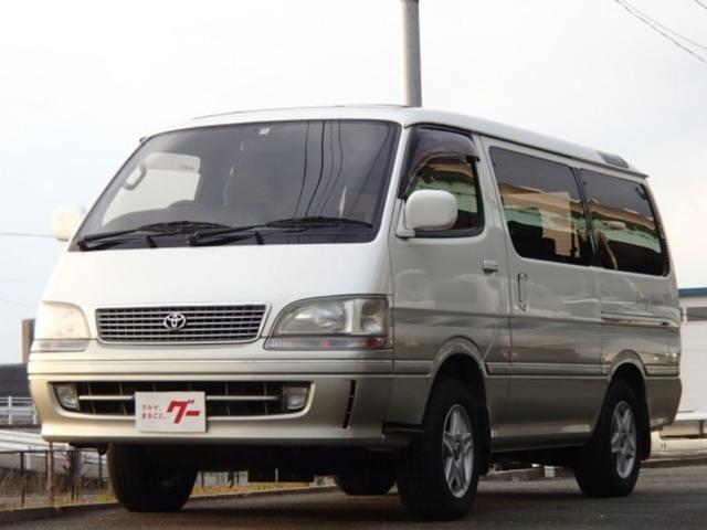 トヨタ スーパーカスタムG トリプルムーンルーフ ナビ 地デジTV