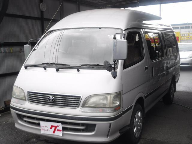 トヨタ ハイエースワゴン グランドキャビンG-e Eg1KZ ディーゼル ターボ