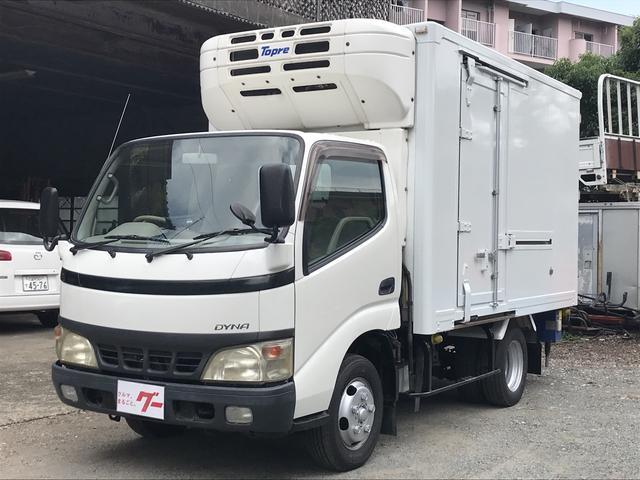 トヨタ 冷蔵冷凍車 スタンバイ付 設定温度‐30℃ 5MT