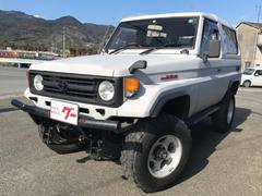 ランドクルーザー70ZX SDナビ 4WD  1ナンバー 4インチアップ