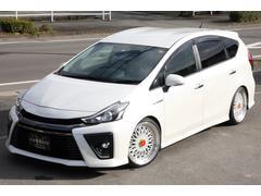 プリウスアルファSツーリングセレクション・G's19インチアルミ車高調新品