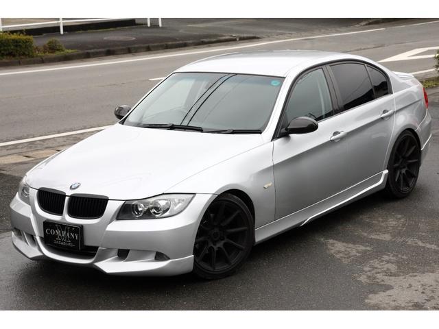 BMW 3シリーズ 320i ローダウン エアロ マフラー18AW...