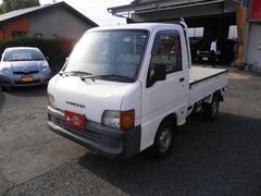 サンバートラック三方開4WD AC